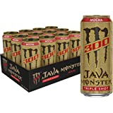 Monster Energy Java 300 Mocha, Triple Shot, Robust Coffee + Cream, 15oz (Pack of 12)