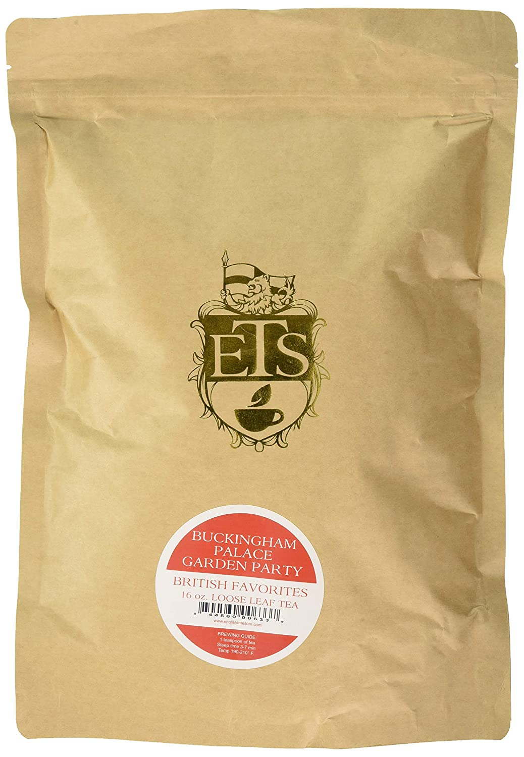 English Tea Store Loose Leaf Tea, Buckingham Palace Garden Party, 16 Ounce