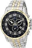 August Steiner Men's AS8118TTG Swiss Quartz Gold-tone Stainless Steel Bracelet Watch