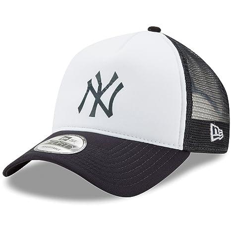 Amazon.com : New York Yankees New Era Trucker Hit A-Frame 9FORTY ...
