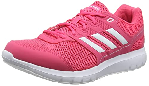 Amazon.com | adidas Duramo Lite 2.0 Womens Ladies Running Trainer Shoe Pink/White | Road Running