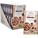 Verival Bio Beeren Urkorn Müsli | 6 x 325g | vegan | ohne Palmöl | handgefertigt in Tirol