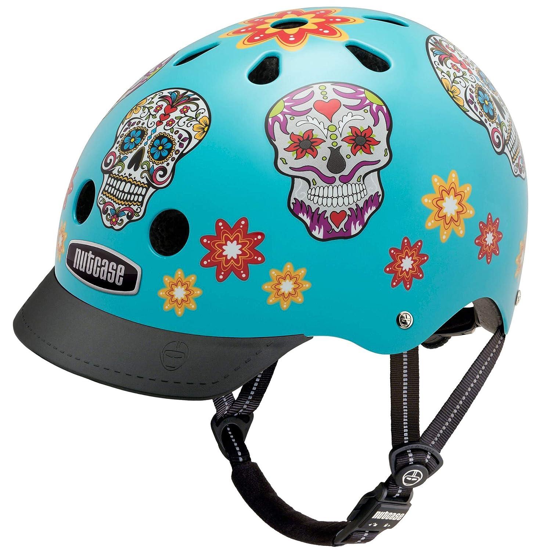 Nutcase – Patterned Street Bike Helmet for Adults, Spirits In the Sky, Medium