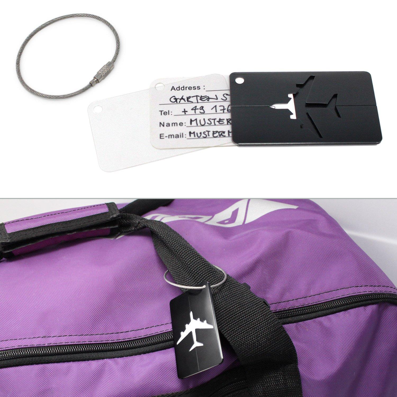 Custodie per carte di credito Protezione assicurata contro furti di identit/à e di dati importanti carte EC 16 pezzi Amazy Protezione carta RFID /& NFC carte didentit/à e passaporto in materiale collaudato