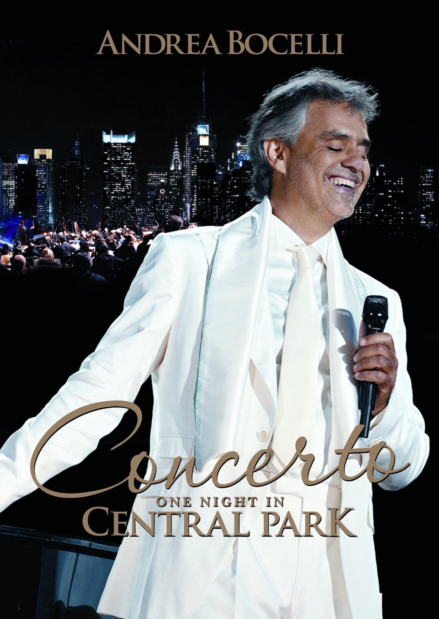 DVD : Andrea Bocelli - Concerto One Night in Central Park (DVD)