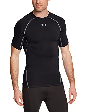 43e29b87c21f3 Under Armour Men s HeatGear Armour Short Sleeve Compression Shirt