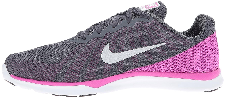 NIKE Women's in-Season TR 6 Cross Training Shoe Grey/Metallic B01DL3WXWA 10 B(M) US|Dark Grey/Metallic Shoe Platinum/Force Pink/Clear Grey c2f1c9