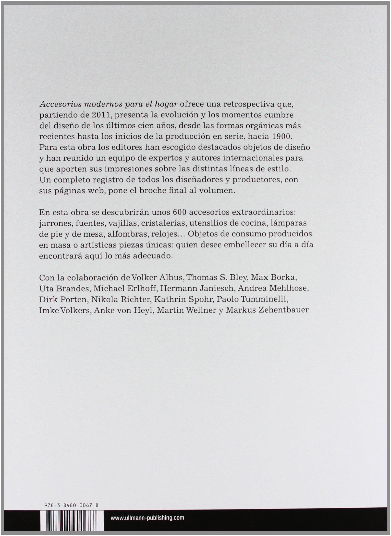 Accesorios modernos para el hogar: 100 años de diseño: FREMDKORPER (000678): 9783848000678: Amazon.com: Books