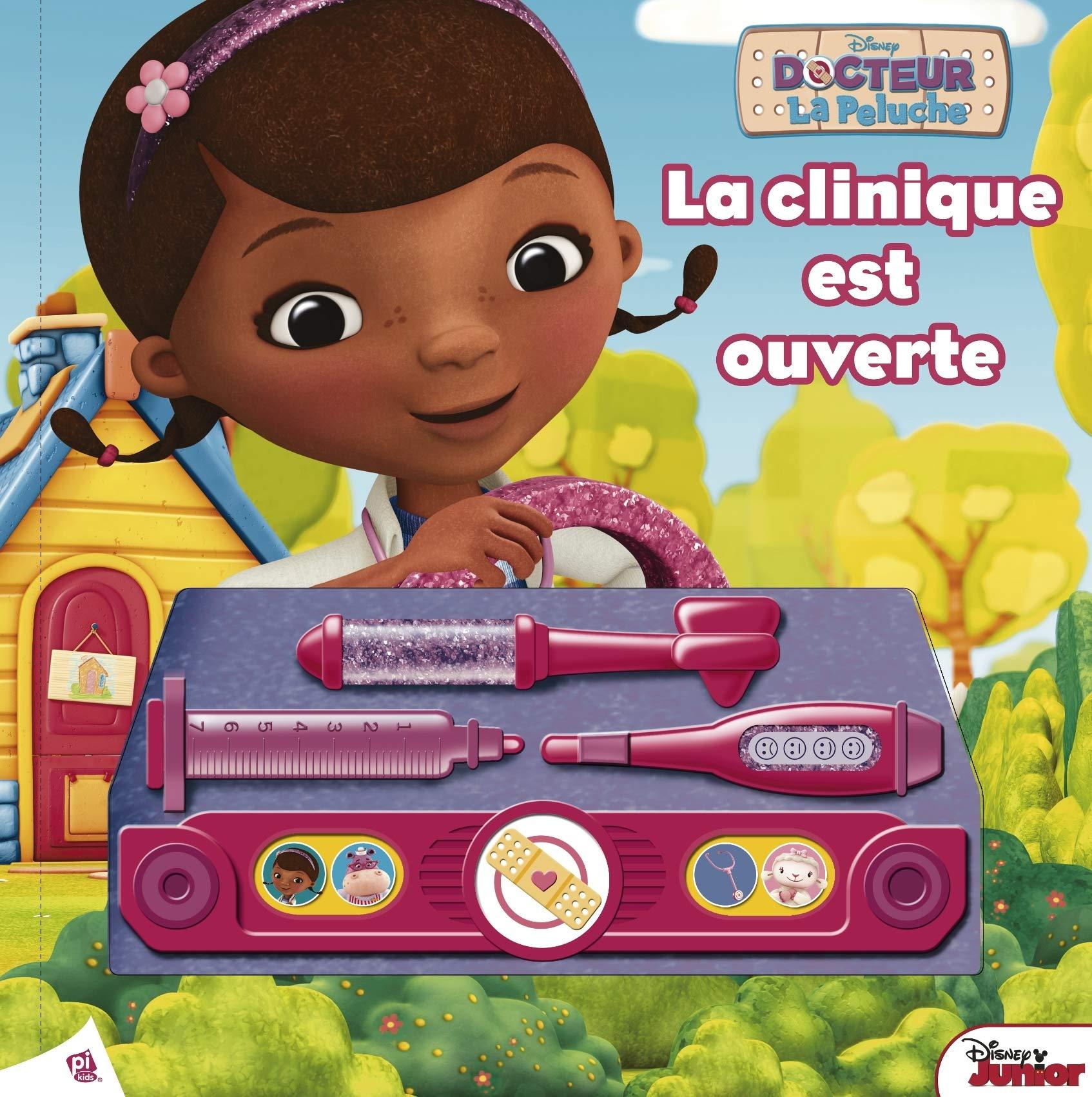 Disney Docteur La Peluche Doc Mcstuffins La Clinique Est