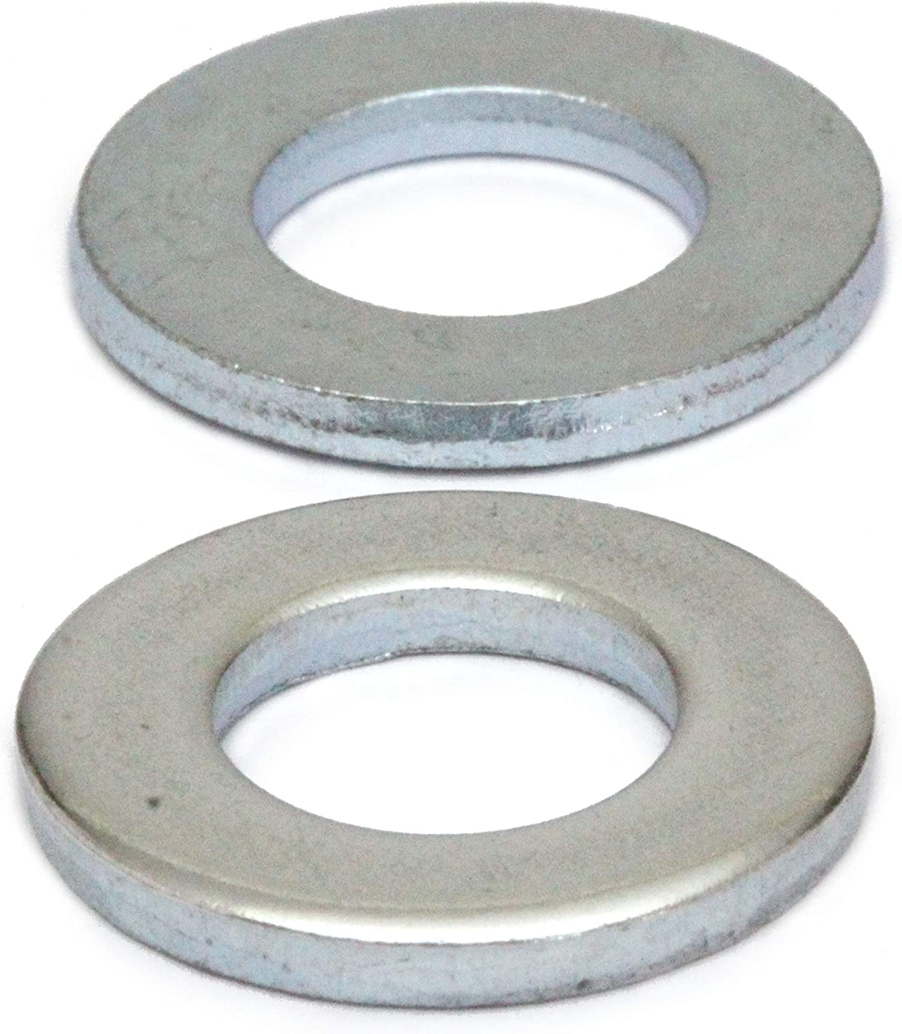 20mm METRIC WASHERS STANDARD FORM A THICK BRIGHT ZINC PLATED BZP DIN 125A M20