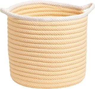 "product image for Colonial Mills Sonoma Basket, 20""x20""x18"", Yellow"