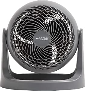 "Woozoo 7"" Blade Personal Air Circulator Fan, Gray PCF-HE18N"
