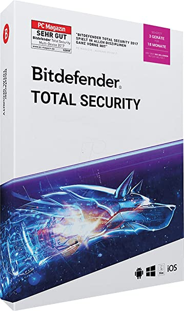 Bitdefender Total Security 2020 Review.Amazon Com Bitdefender Total Security 2019 2020 1 Years