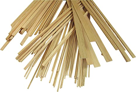 Amazon Com Alvin Balsa Wood Strips Ideal Wood For Diy Modelling Projects 1 4 X 3 4 Inches 10 Pieces