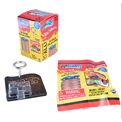 Worlds Smallest Hot Wheels Mini Car Blind Box: Toys & Games