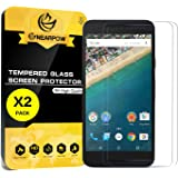 [2 Pack] LG Nexus 5X Screen Protector, Nearpow [Tempered Glass] Screen Protector with [9H Hardness] [Crystal Clear] [Easy Bubble-Free Installation] [Scratch Resist]