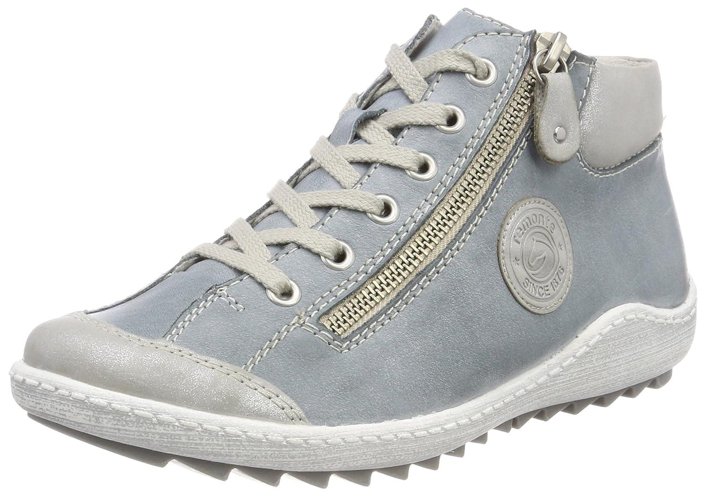 Remonte R1488, Zapatillas Altas para Mujer 39 EU|Azul (Silber/Sky)