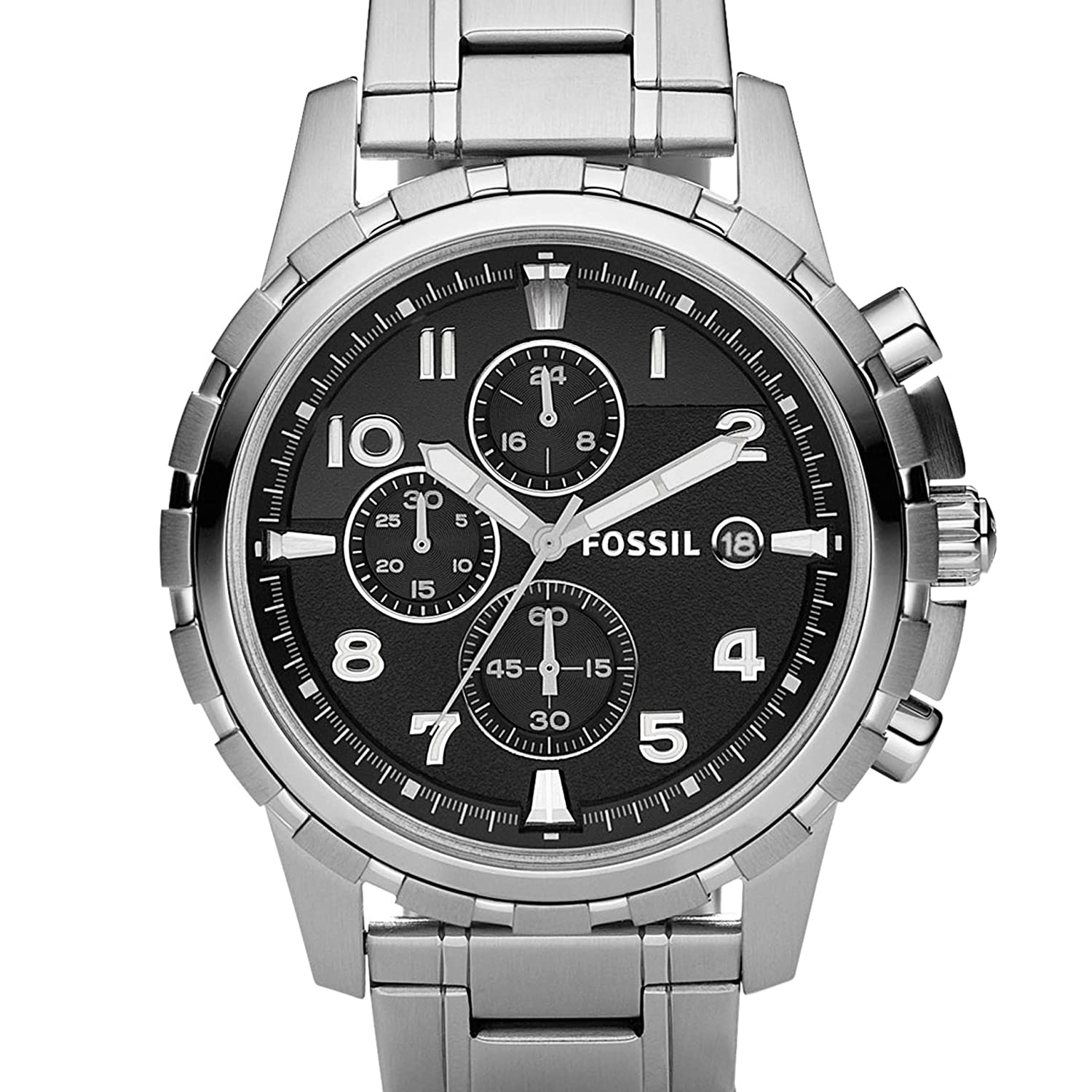 a4b019c37 Buy Fossil Analog Black Dial Men's Watch - FS4542 Online at Low Prices in  India - Amazon.in