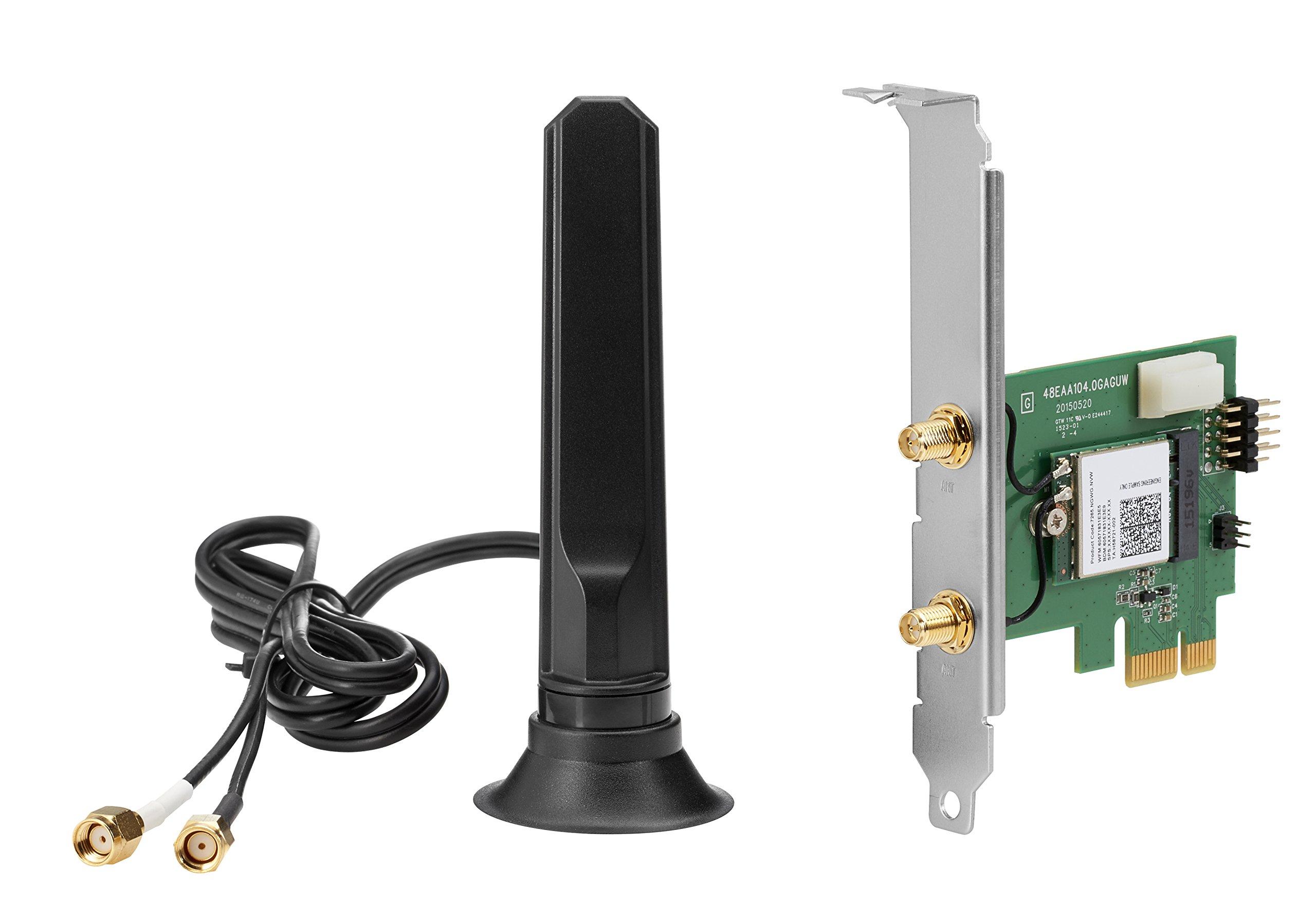 HP 7265 IEEE 802.11ac - Wi-Fi/Bluetooth Combo Adapter for Desktop Computer