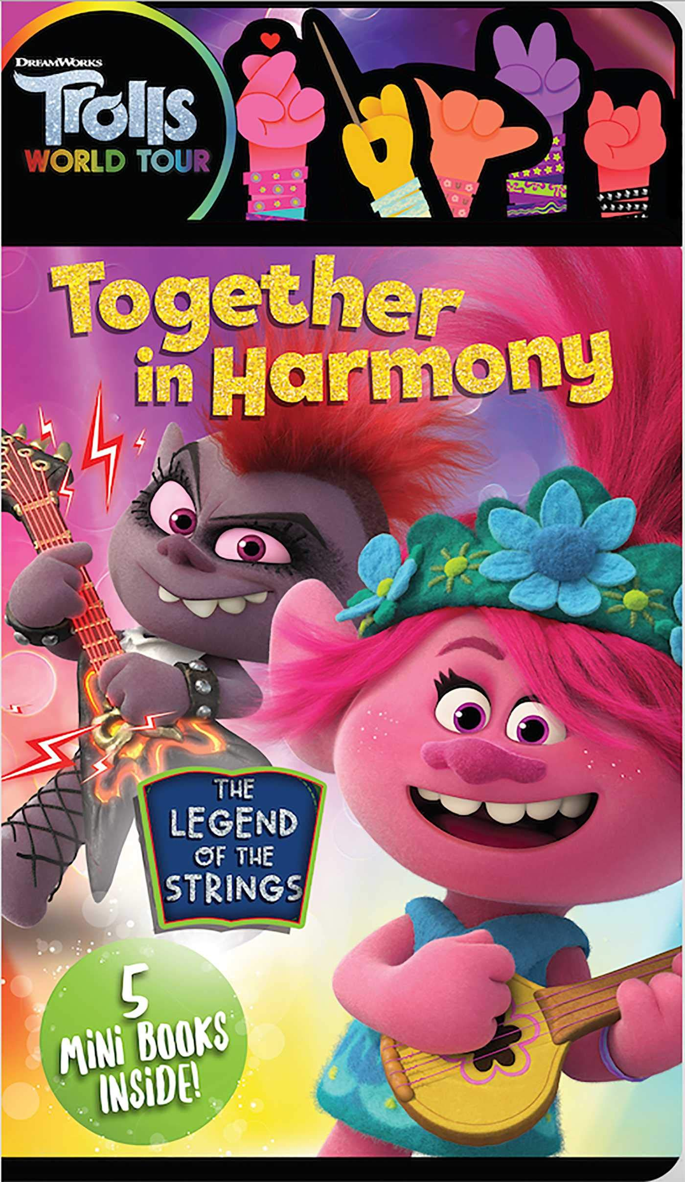 Dreamworks Trolls World Tour Together In Harmony Parent Nancy