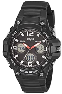 Ego by Maxima Analog-Digital Black Dial Men's Watch-E-43794PPAN Men at amazon