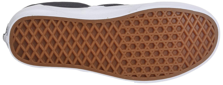 Vans Unisex Classic (Checkerboard) Slip-On Skate Shoe B076CTVGMP 7 M US Women / 5.5 M US Men|(Mono Canvas) Asphalt