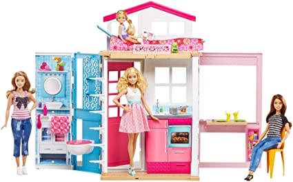 Barbie 2 Story House With Furniture U0026 Accessories