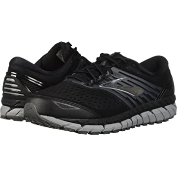 reliable Brooks Men's Beast '18 Black/Grey/Silver 12 EE US