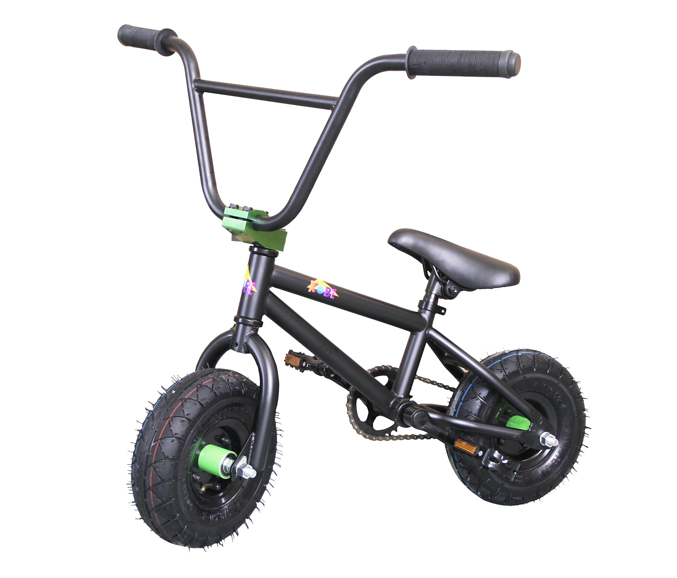 Kobe Mini BMX Bike - Black Green