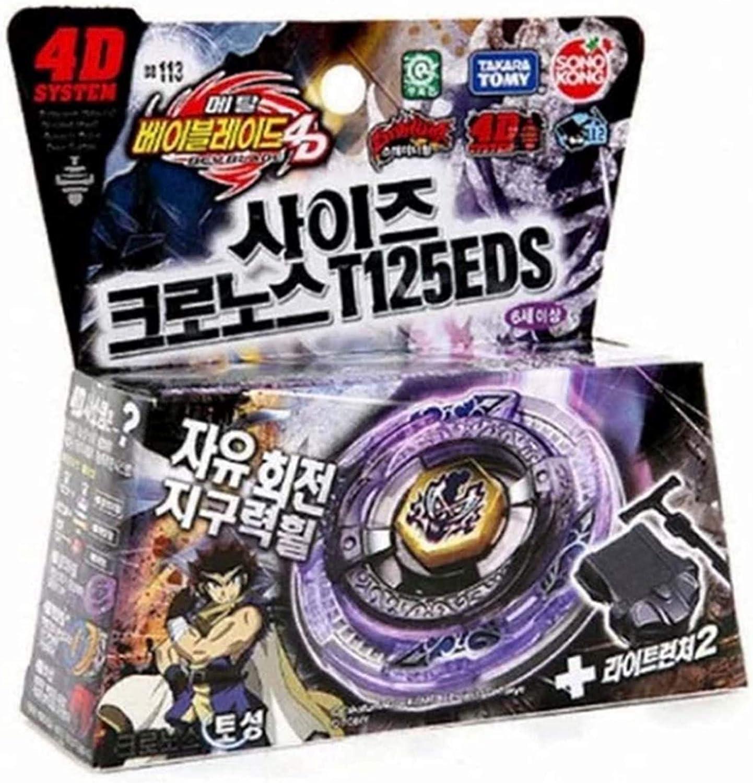 Sonokong 4D BB113 Metal Fusion Starter Set Scythe Khronos T125EDS Takara Korea Imported