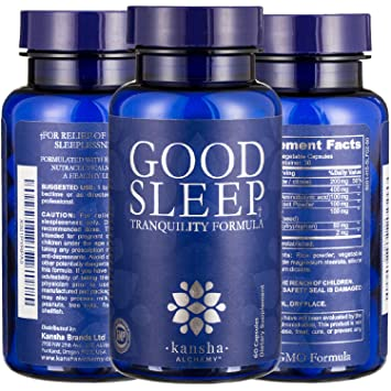 Sleep Aid - Natural Relaxing Sleeping Pills with Melatonin, L-Theanine, Magnesium &