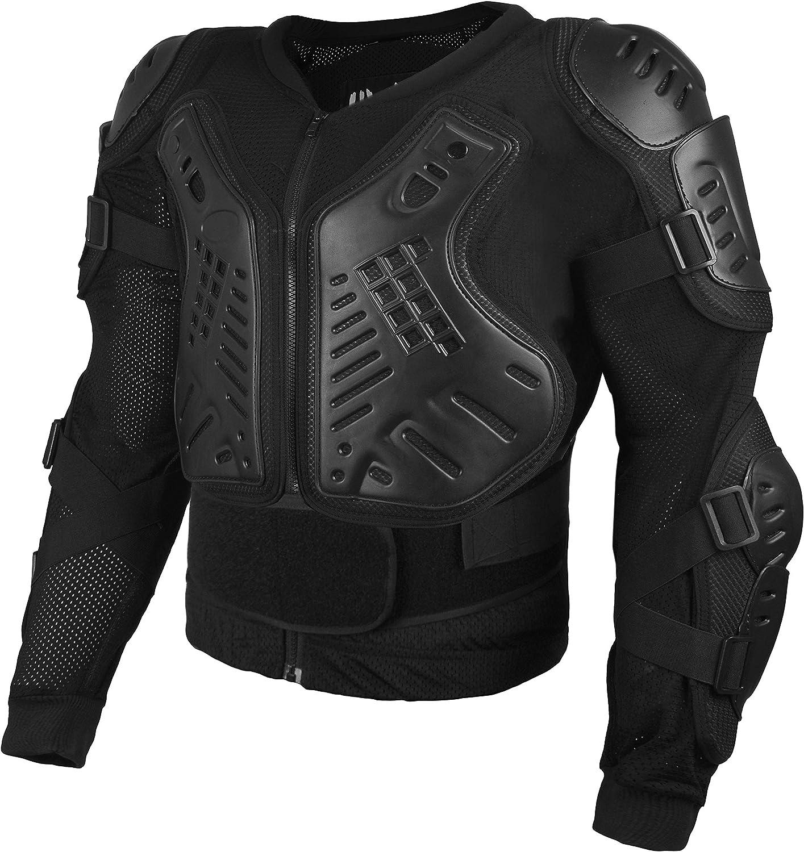 4XL HWK Motorcycle Jacket Full Body Armor Motocross ATV MTB Dirt Bike Skating Tactical Protective Gear