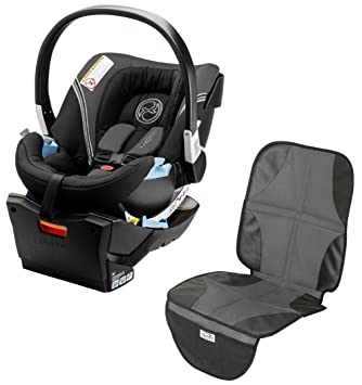 Amazon Com Cybex Aton 2 Infant Car Seat With Car Seat Protector
