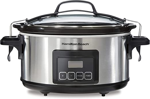 Travel Bag for 7-Quart Slow Cookers Crock Pot Camping RV Traveling New Black