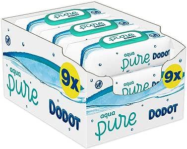 Dodot Aqua Pure Toallitas Bebé con 99% Agua, 9 Paquetes x 48 ...