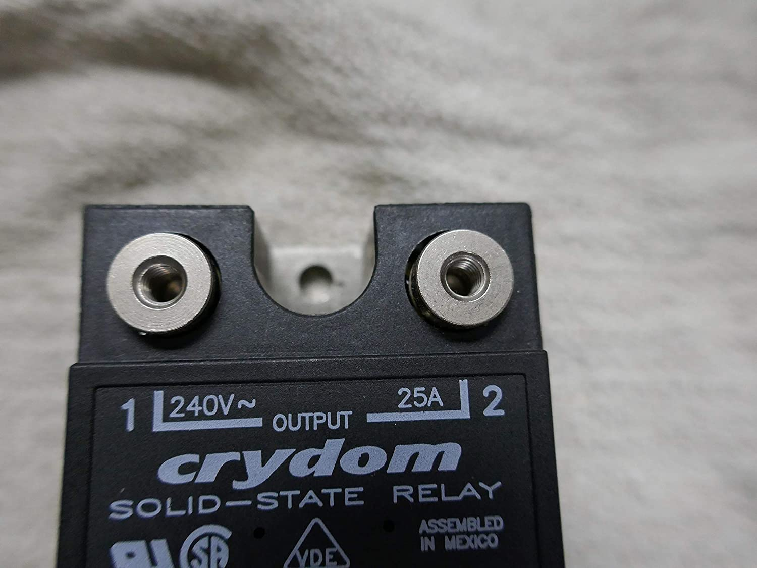 Crydom D2425 Ssr Panel Mount 280vac 32vdc 25a Other Products Solid State Relay Medium Power Single Phase Acsolid Industrial Scientific