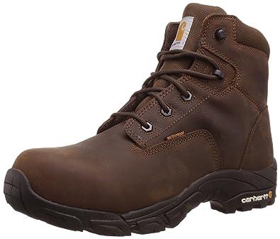 e7527fc025a Carhartt Men's 6-Inch Waterproof Composite-Toe Work Hiker Boot