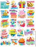 Eureka Birthday Stickers, Theme (655062)