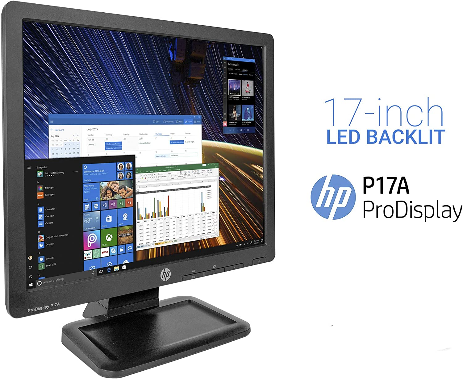 HP PRO Display P17A, 17