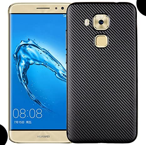 Huawei Honor 5C/GT3/Honor 7Lite Soft Case, Awesome Carbon Fiber ...