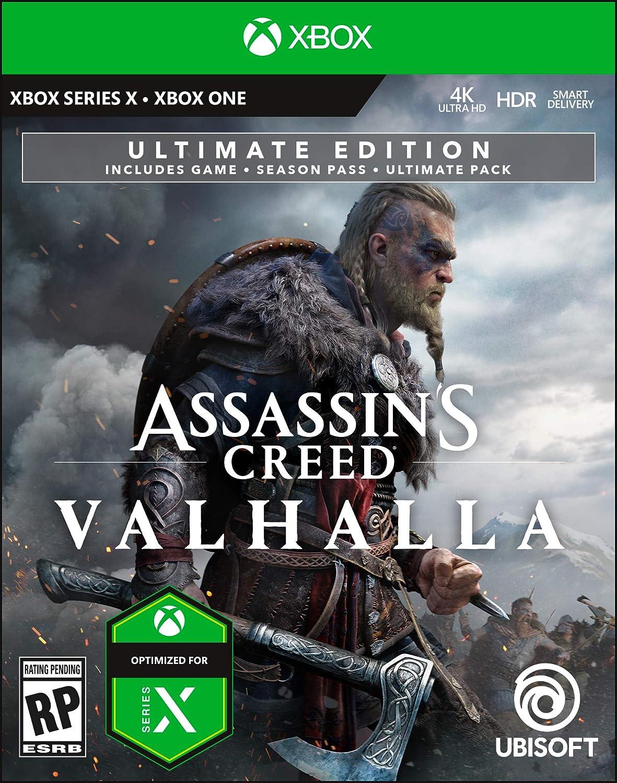 Amazon Com Assassin S Creed Valhalla Ultimate Pre Purchase