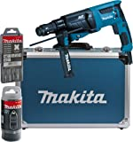 Makita HR26311FT13J Perforateur-burinateur pour SDS-PLUS 26mm dans un coffret en aluminium, hr2631ft13