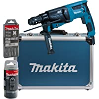 Makita HR2631FT13 – Martillo combinado para SDS-Plus de 26 mm, en