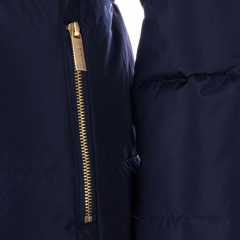 Elle Womens Zoe Down Jacket in Navy