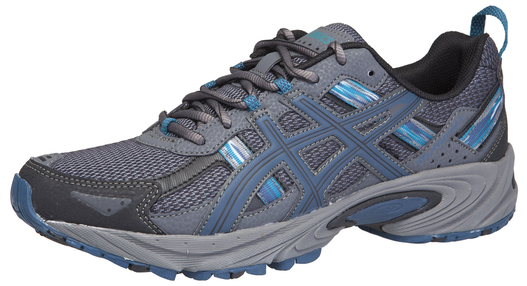 ASICS Men's Gel-Venture 5 Running Shoe (7.5 D(M) US, Black/Ink/Ocean) by ASICS (Image #1)