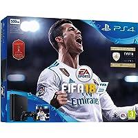 PlayStation 4 (PS4) - Consola 500 GB + FIFA 18 (World Cup)