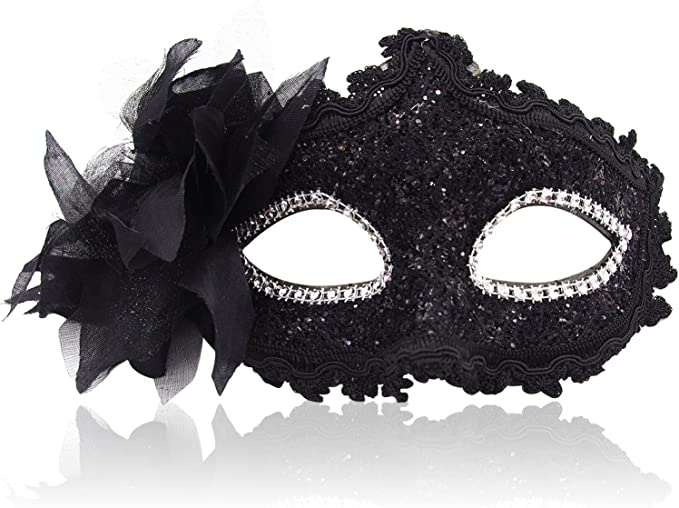 LUXURY ORNATE JEWELLED PINK RIALTO VENETIAN MASQUERADE CARNIVAL PARTY EYE MASK