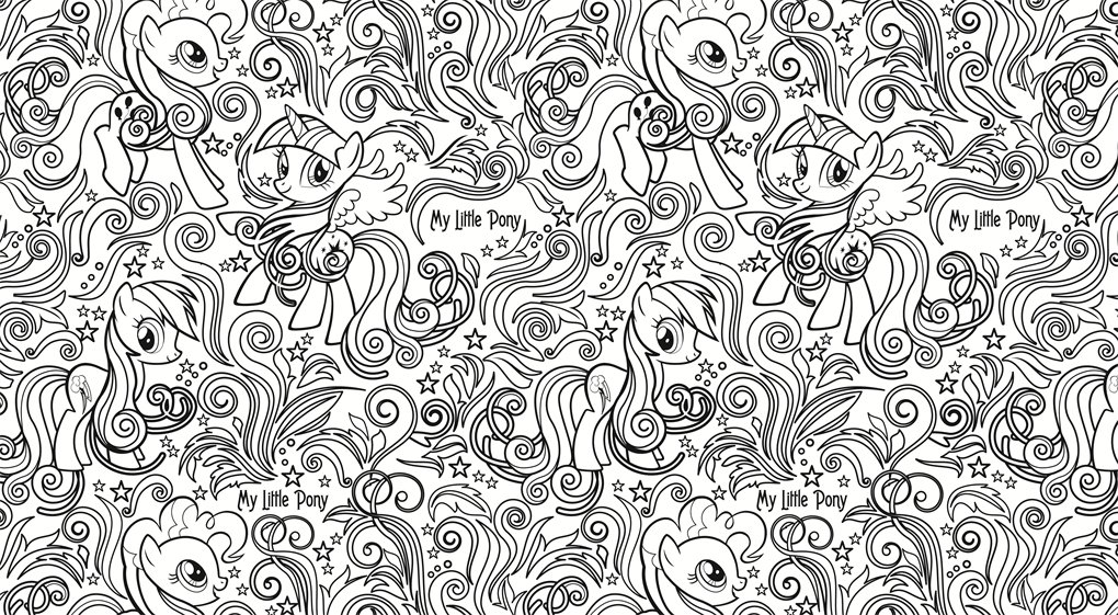 My Little Pony Creative Colouring Book: Amazon.co.uk: My Little Pony ...