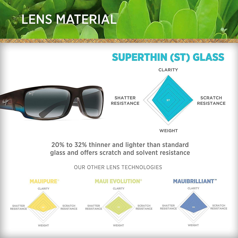 e4061240c5c6 Amazon.com: Maui Jim World Cup 266-03F Marlin Wrap Frame Polarized  Sunglasses Neutral Grey: Maui Jim: Shoes
