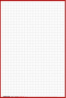 Amazon.com: Alvin Quadrille Paper Grid Pad, Size 17 x 22 Inches ...